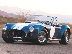 The Racer of AC Cobra