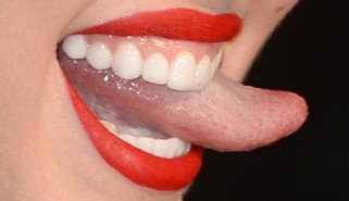 Seems me, Uncensored images of miley cyrus tounge consider